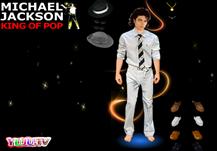 Michael Jackson dressup
