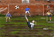 Overhead Kick Game