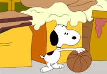 Snoopy en problemas