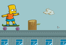 Bart on Skate