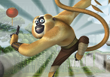 Kung Fu Panda: Monkey Run