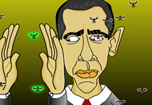 Obama Swats Fly