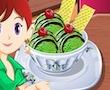 Cocinar con Sara: Helado de Té Verde