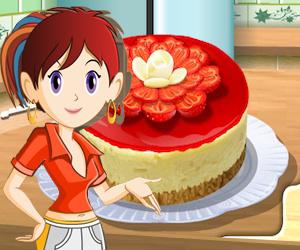 Cocinar con Sara: tarta de queso con frutillas