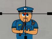 Francotirador y presos